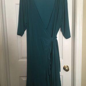 Kiyonna wrap dress 3x